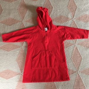 Hooded Hanna Andersson Polo Dress
